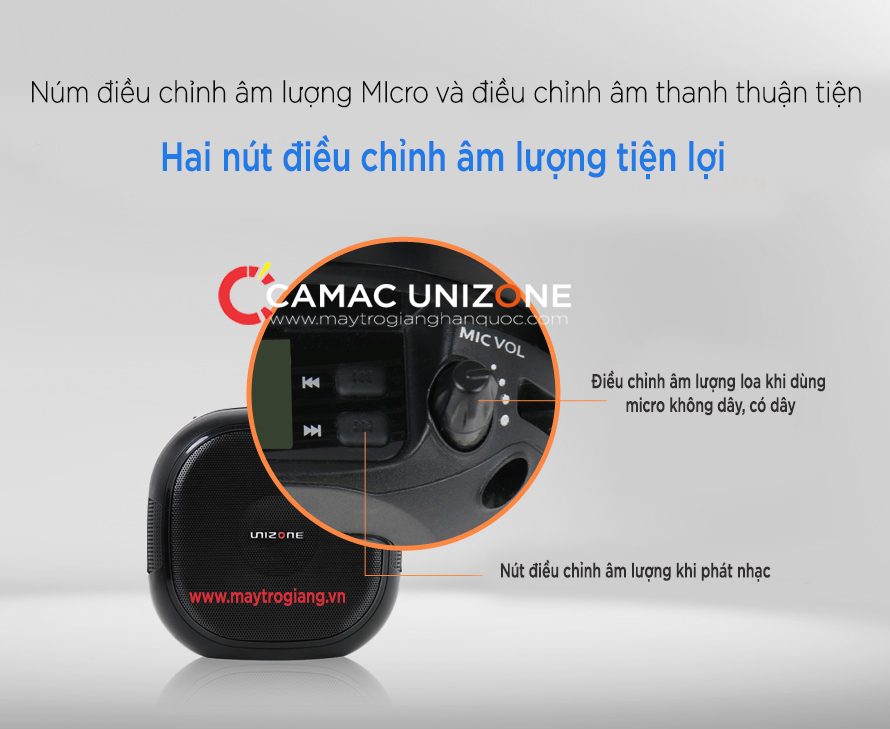 nut-dieu-chinh-am-thanh-may-unizone-8080-han-quoc